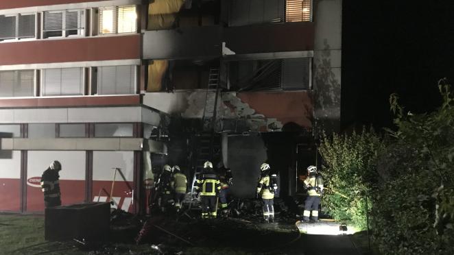Den Brand konnte die Feuerwehr schnell löschen.