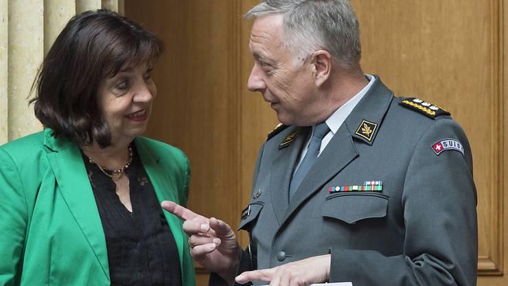 André Blattmann warnt: Schweizer Armee verliert jährlich 5500 Personen an den Zivildienst (Archivbild)
