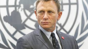 James-Bond-Darsteller Daniel Craig bei der UNO in New York