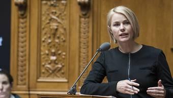 SVP-Nationalrätin Natalie Rickli will für einen Sitz in der Zürcher Kantonsregierung kandidieren. (Archivbild)