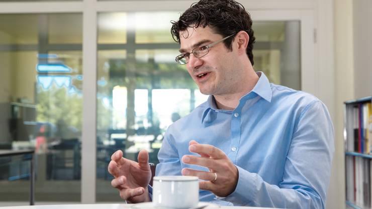 Benjamin Schwägli sieht für Solothurner Firmen Chancen in Nischenmärkten und im Hightech-Bereich.