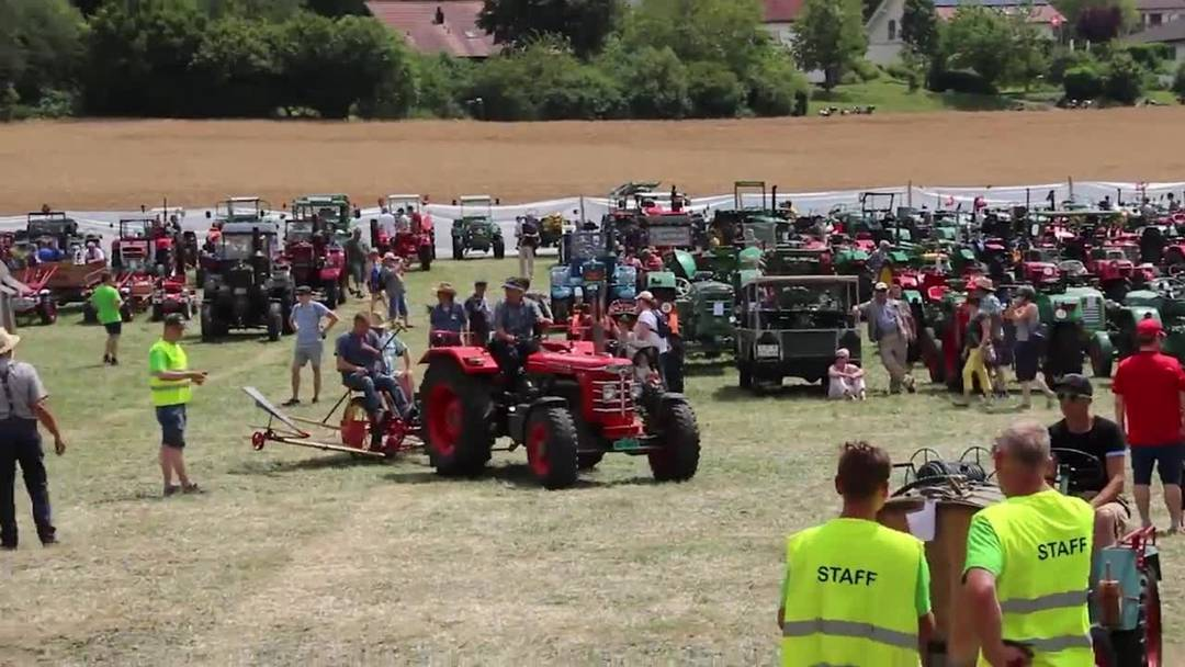 Landmaschinen-Oldtimer-Treffen in Effingen