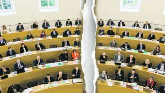 Bei der Frage, wer den Lohnausweis beim Steueramt einreichen soll, klaffen die zwei Hälften des Parlaments in der Mitte auseinander.