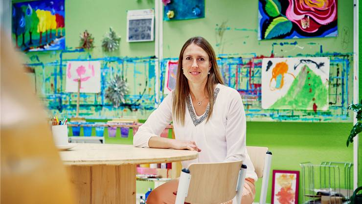 27 Schülerinnen und Schüler von der 1. bis zur 5. Klasse besuchen die Privatschule von Angela Fisch in Meisterschwanden. (Bild: Colin Frei)