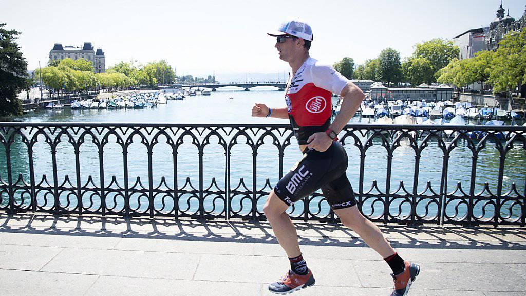 Erfolgreicher Titelverteidiger am Ironman Switzerland