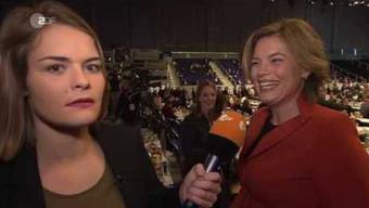 Hazel Brugger beim CDU-Parteitag - heute-show vom 09.12.2016 | ZDF