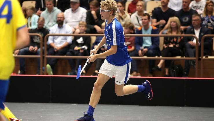 Der neue Basler Spieler Pieti Alatalo im Dress seiens alten Finnischen Klubs