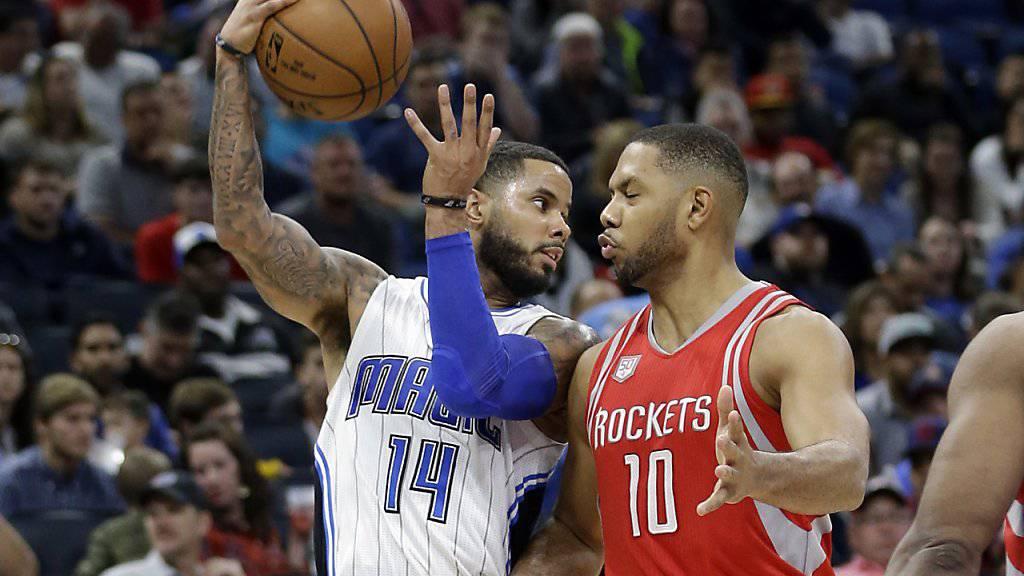 Die Houston Rockets setzten sich auch in Orlando durch und kamen in Florida zum 7. Sieg in Folge