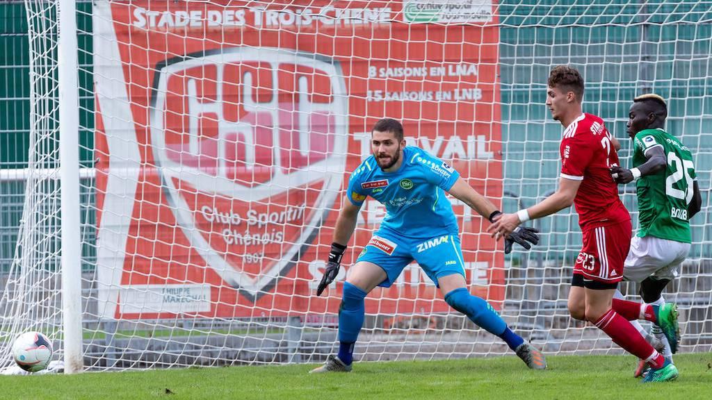 Logan Clément ist neuer Mittelstürmer beim FCSG