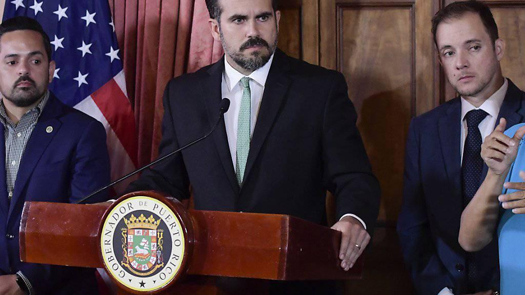 Regierung: Puerto Ricos Regierungschef nicht zurückgetreten