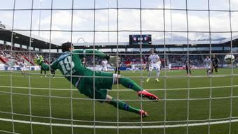 Sion-Goalie Deana von Thuns Penaltyschützen Sadik bezwungen