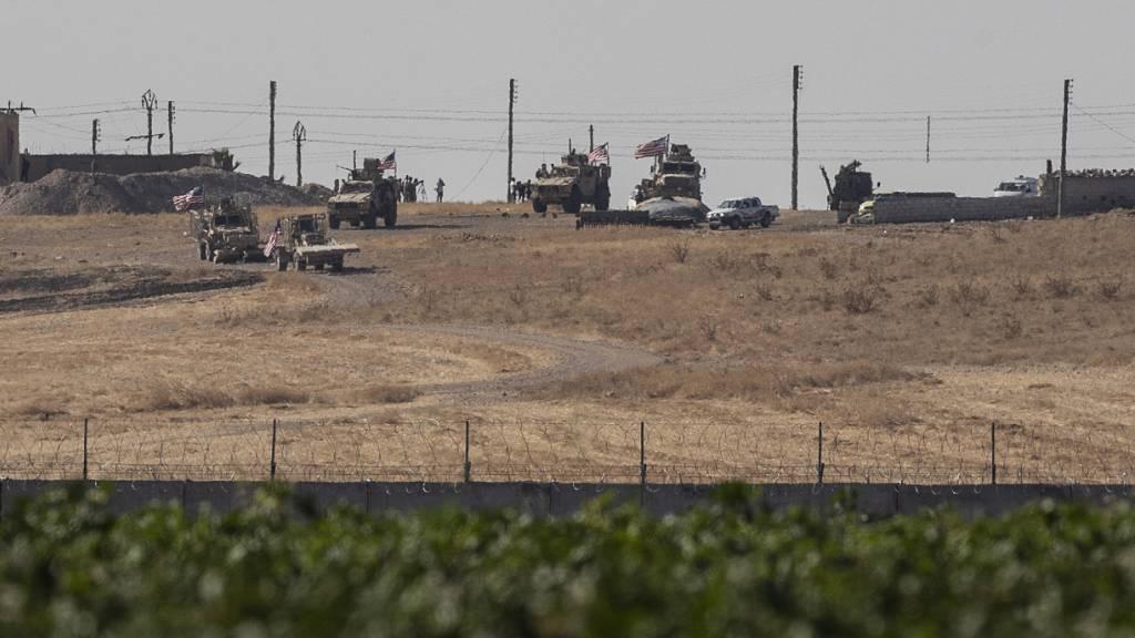 USA und Türkei starten gemeinsame Patrouillen in Nordsyrien