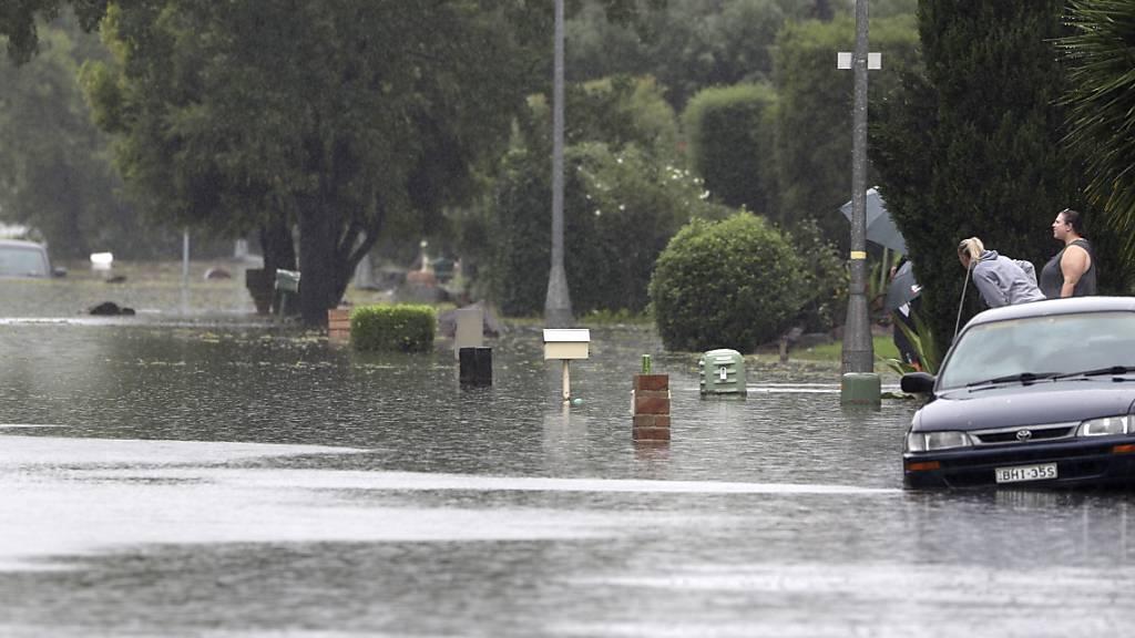 Keine Entwarnung nach katastrophalen Überschwemmungen in Australien
