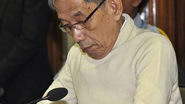 Kaing Guek Eav alias Duch ist angeklagt