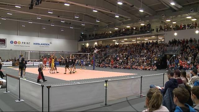 Erste Volley-Halle in der Schweiz