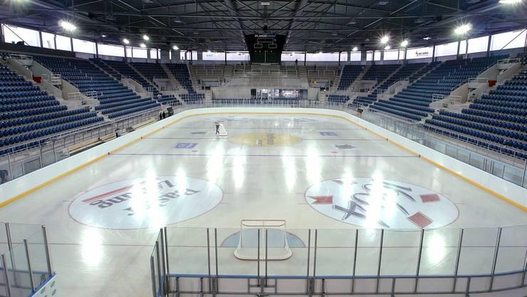 Die St. Jakob-Arena war bei den Spielen der Sharks zu schlecht besucht. Auch Gönner fehlten dem Verein.