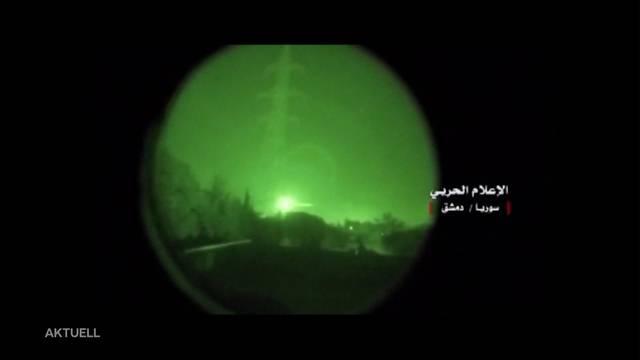 Westlicher Luftschlag auf Syrien