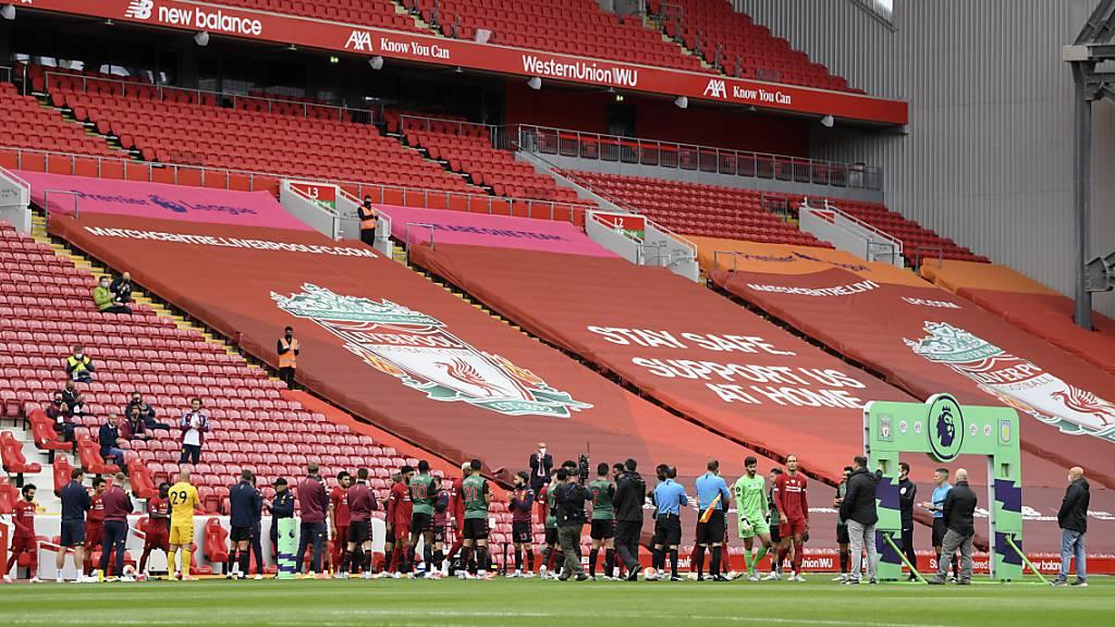 Liverpool bekommt Meister-Trophäe im eigenen Stadion