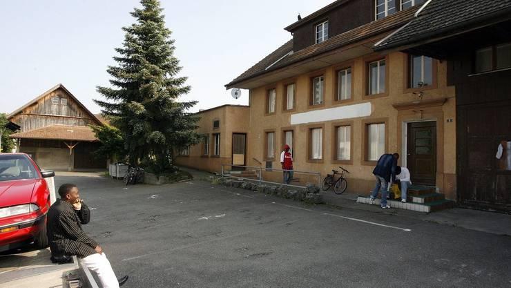 Der Streit ereignete sich in der Asylunterkunft in Birr.