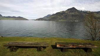 Die Suche nach dem Vermissten konzentriert sich aufs Ufer beim Rütli.
