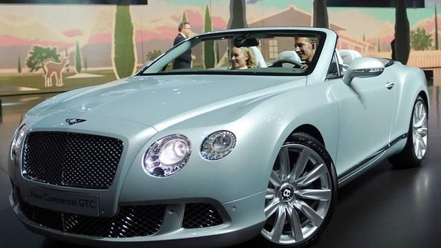 Schwarze Zahlen mit schicken Autos: Die Edelmarke Bentley (Archiv)