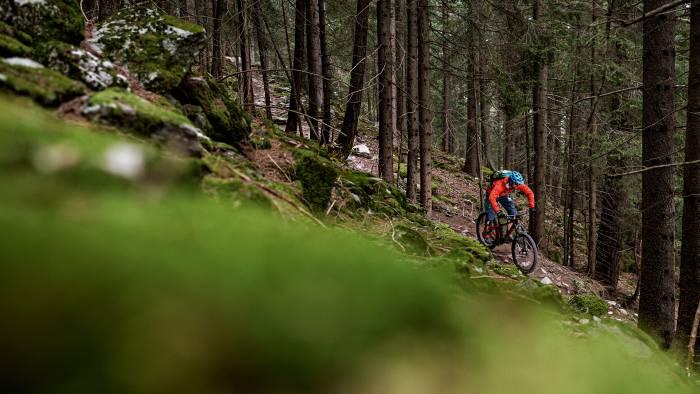 <p>Die Mountainbike-Trails rund um Poschiavo sind wegen der vielen H&ouml;henmetern anspruchsvoll.</p>