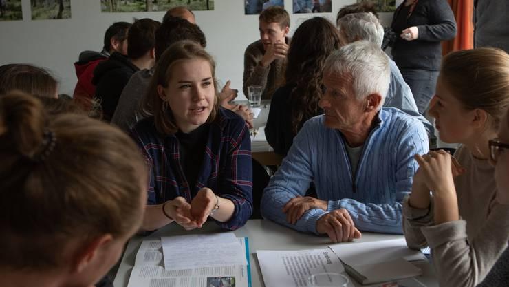 Alt und Jung diskutierten über die Zukunft von Olten.