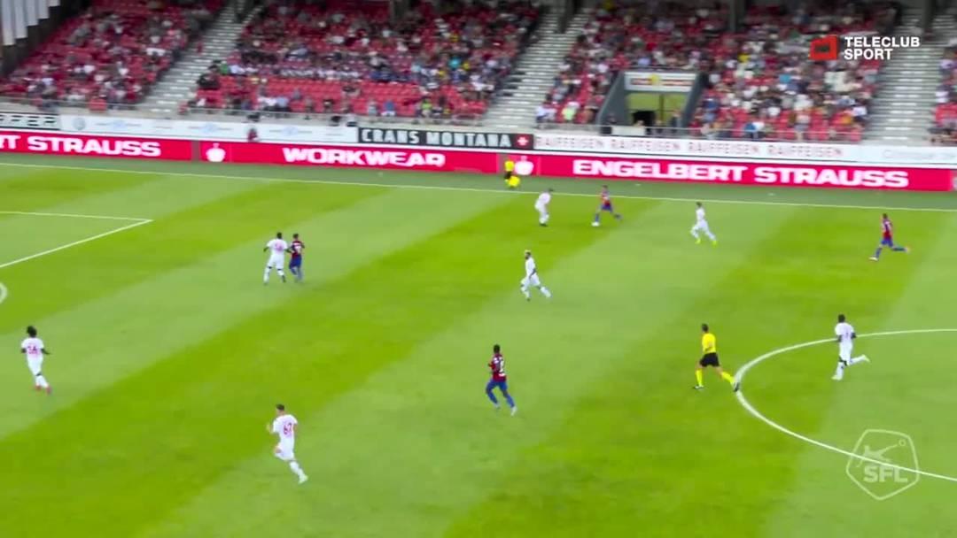 Sion - FCB 1:4, 1. Runde 2019