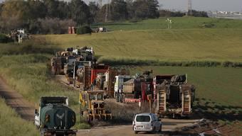 Israels Armee hat verschiedene Grenzübergänge in den Gazastreifen wieder geöffnet - trotz anhaltender Gewalt in der Region. (Archivbild)