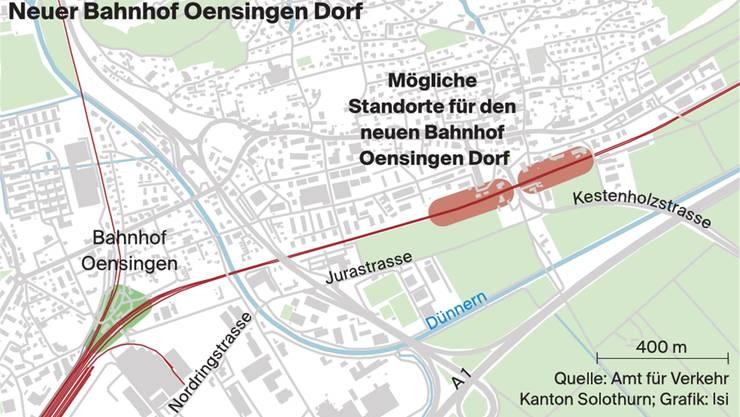 Neuer Bahnhof Oensingen Dorf