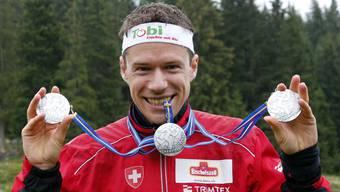 Mit dreimal Silber kam Daniel Hubmann vor einem Jahr von der Weltmeisterschaft nach Hause.