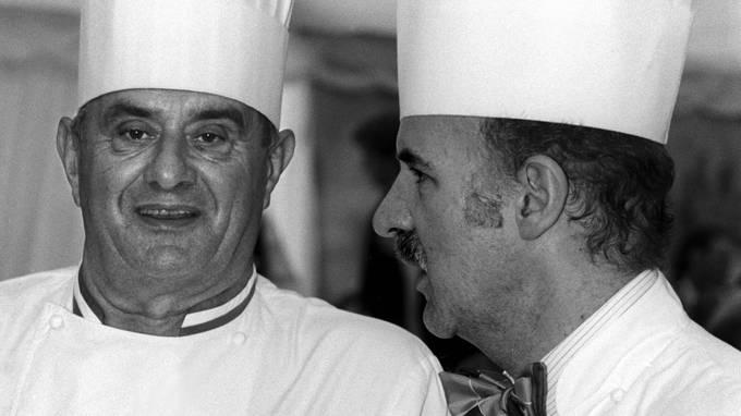 Mosimann mit dem Koch der Köche - Paul Baucuse. 1992