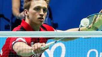 Christian Kirchmayr vertritt die Schweiz an den Badminton-Weltmeisterschaften in Basel im Männer-Einzel