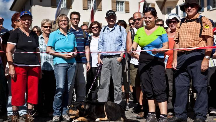 1. Etappe: Der Startschuss fürs Leserwandern fällt am Montag in Zofingen.