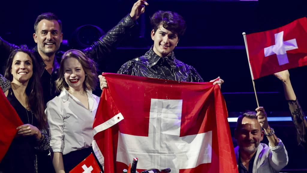 Gjon's Tears aus dem Kanton Freiburg ist für das Eurovisionsfinale qualifiziert.