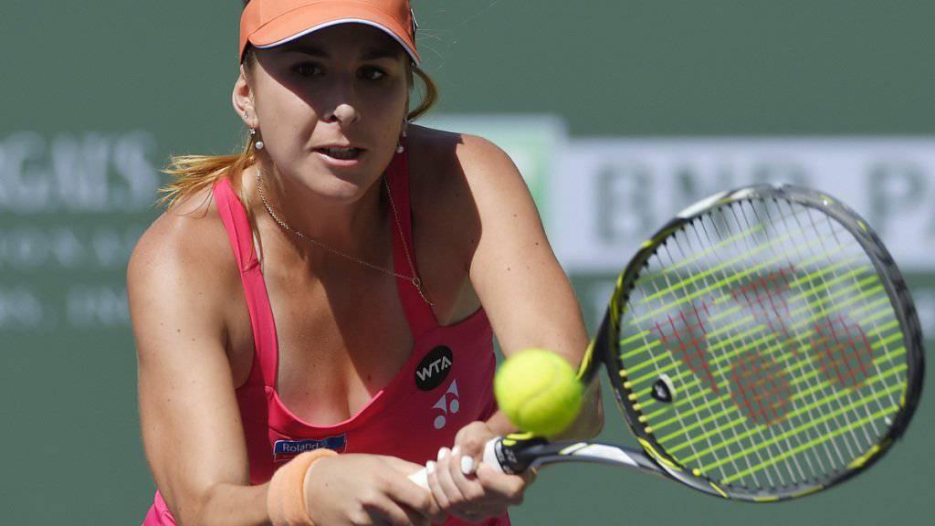 Belinda Bencic konnte in Birmingham nicht zu Ende kämpfen