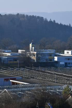 MK- der Bau- und Umweltschutzdirektion: Eröffnung geschlossener Eintrittsbereich Massnahmenzentrum für junge Erwachsene Arxhof (MZjE).