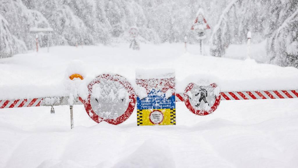 Vorsicht Lawine: Neuschnee birgt Gefahr für Tourengänger