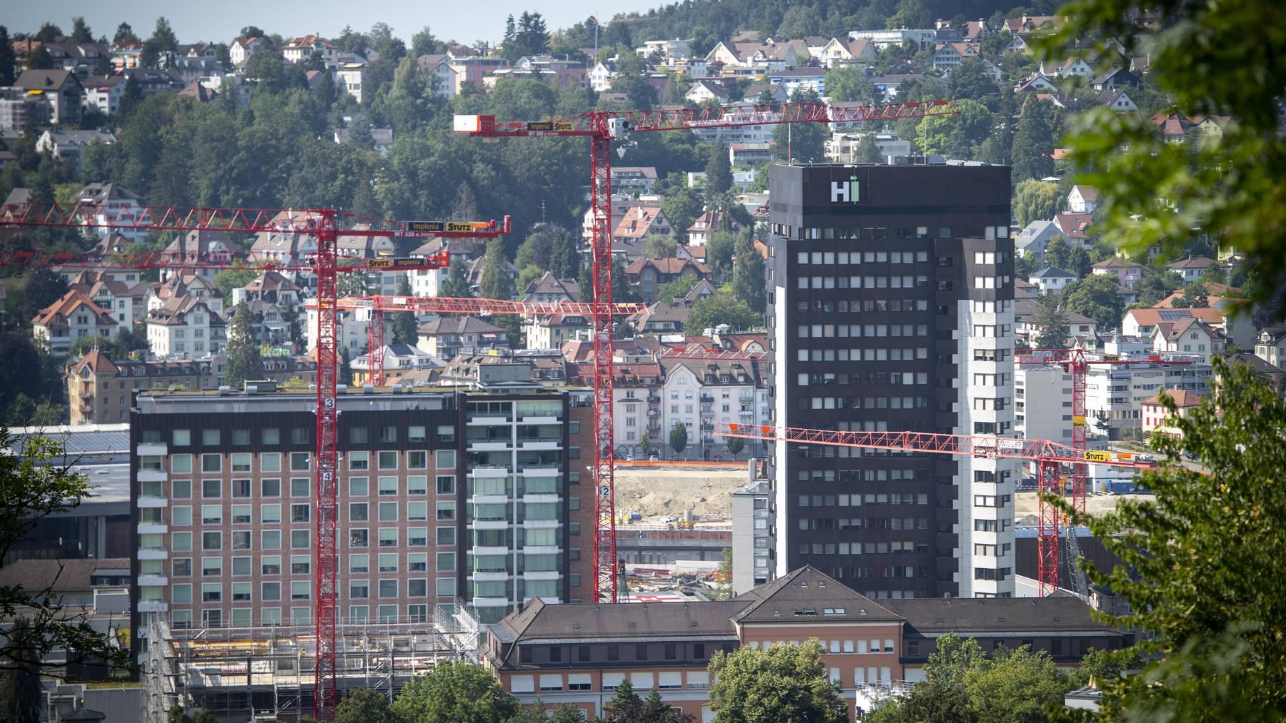 Das Kantonsspital St.Gallen baut seine Kapazitäten auf der Intensivstation aus.
