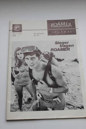 Vieles aus dem Roamer-Archiv ist erhelten - eine interne Firmenzeitschrift von 1969