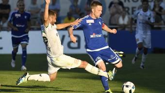 Der FC Wohlen verliert auswärts gegen Wil 1:3. (Archivbild)