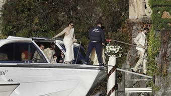 Mehr als die Hochzeitsgäste des Bollywood-Paars Deepika Padukone und Ranveer Singh gab es bisher nicht zu sehen.