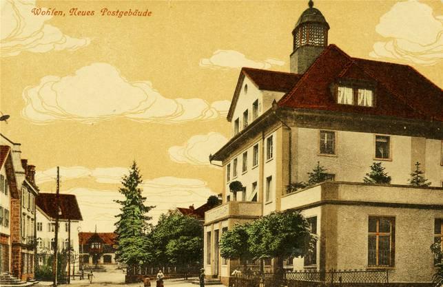 Das Postgebäude 1924.