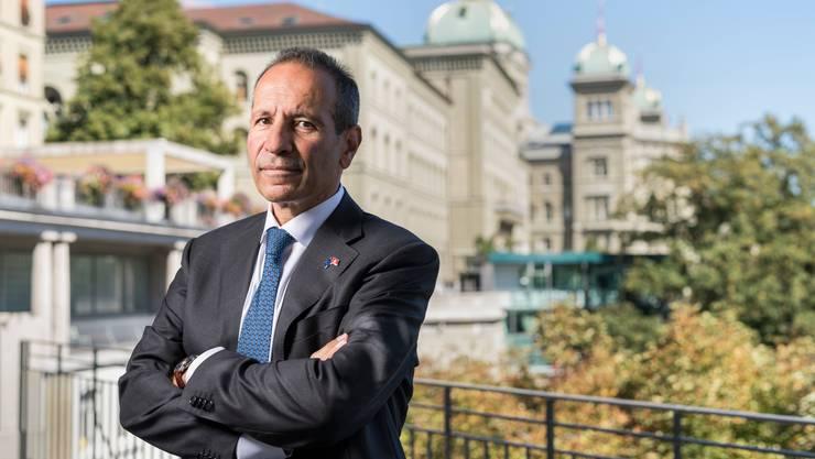 Petros Mavromichalis löste im September Michael Matthiessen als EU-Botschafter in Bern ab.