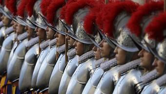 Bei der Schweizergarde in Rom sind am Wochenende vier Gardisten positiv auf das Coronavirus getestet worden. (Archivbild)
