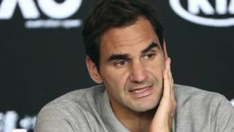Roger Federer erlitt in der Rehabilitation einen Rückschlag