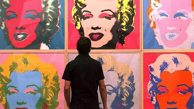 Andy Warhol huldigte der Ikone: Marilyn Monroe als Kunstobjekt (Archiv)