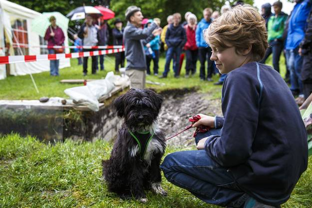 Viele Besucher trotz Hundewetter