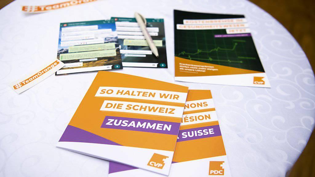Die CVP möchte mit einer starken Mittepolitik den Zusammenhalt in der Schweiz fördern.