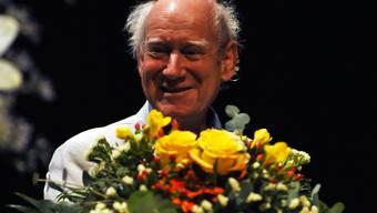 Preisübergabe an Franz Hohler
